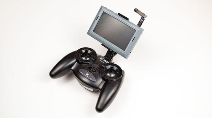 Blade FPV drone controller