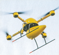 DHL Parcelcopter Delivery Drone