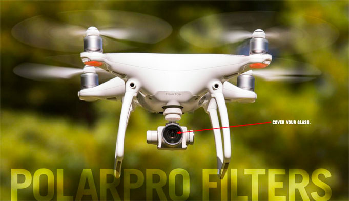 DJI Phantom 4 Polarpro Lens Covers