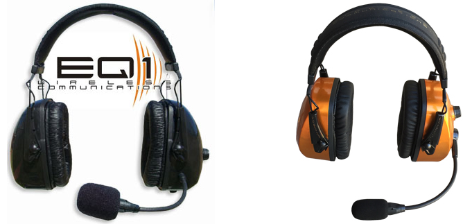 EQ-1 Wireless Pilot Headset