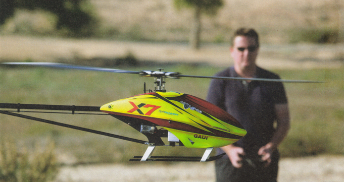 Gaui X7 Formula RC Helicopter Review