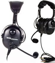 MGL 880 Pilot Headset