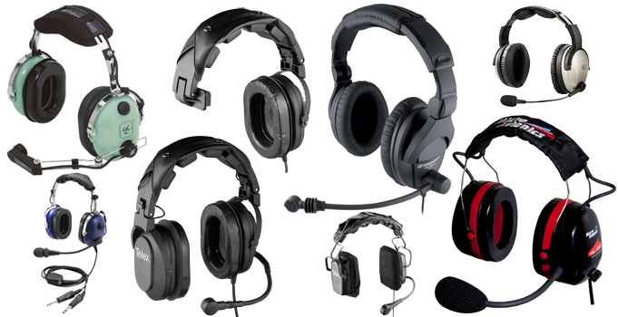 Pilot headsets for sale cheap online USA