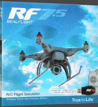 RC Flight Simulator RF7.5 Software