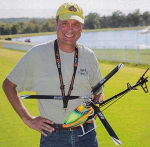 Radio control helicopter review Trio 360 CFX