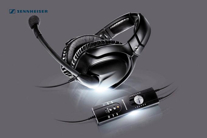 Sennheiser S1 Pilot Headset For Sale Online
