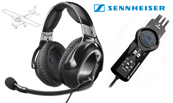 Sennheiser S1 pilot headset review