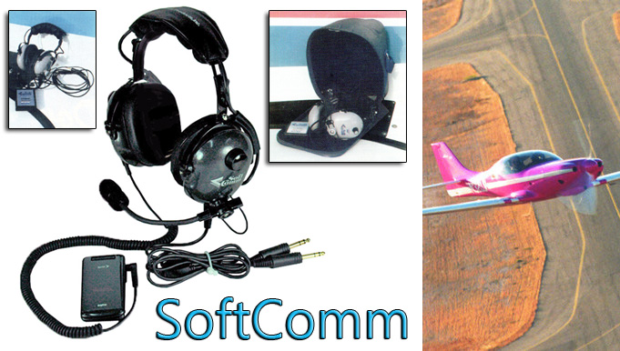 SoftComm aviation headsets
