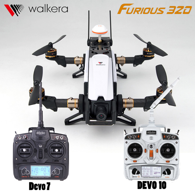 Walkera Furious 320 Drone Camera HD OSD CFP Modular FPV Drones Devo7 Devo10 Transmitter