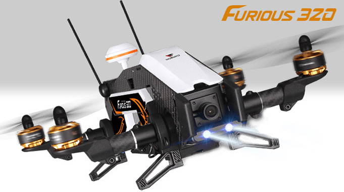 Walkera Furious 320 drone racer
