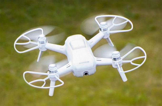 Yuneec 4k camera drone