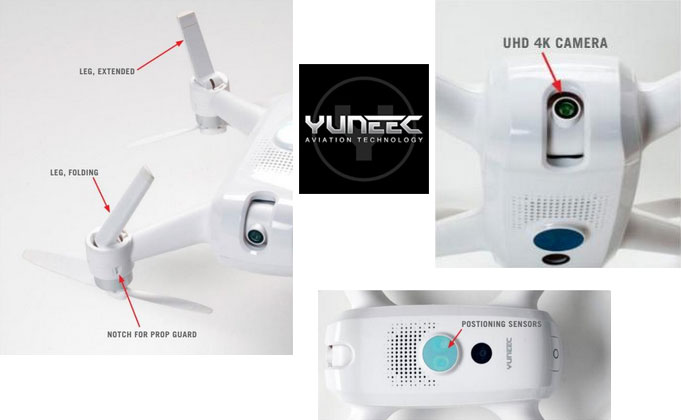 Yuneec breeze drones