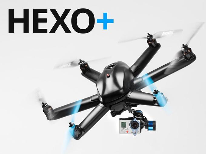 Action camera HEXO+ drone