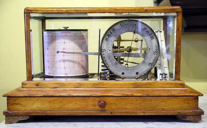 Barograph barometers for sale