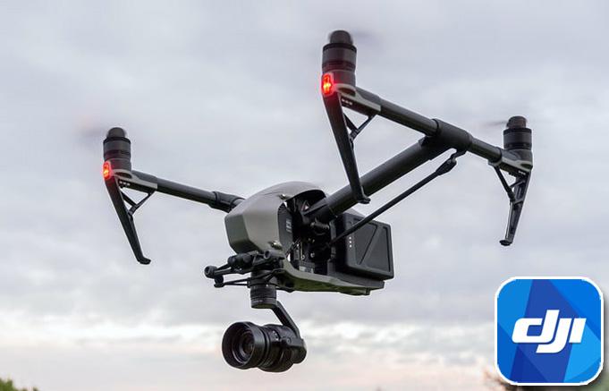 dji inspire 2 filming drone