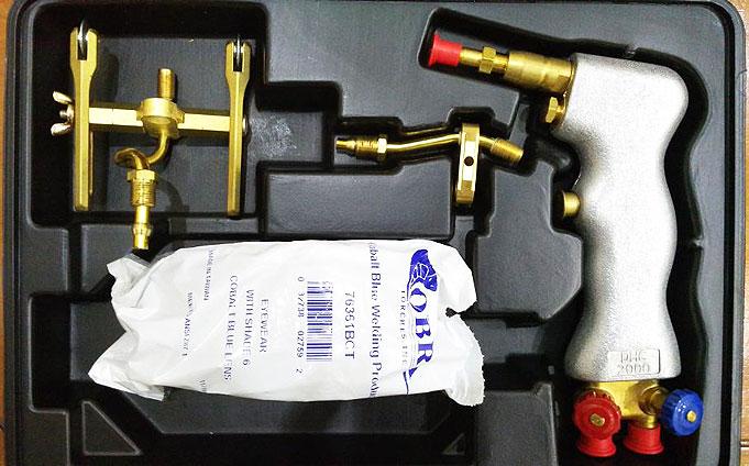 gas welding aluminum torch