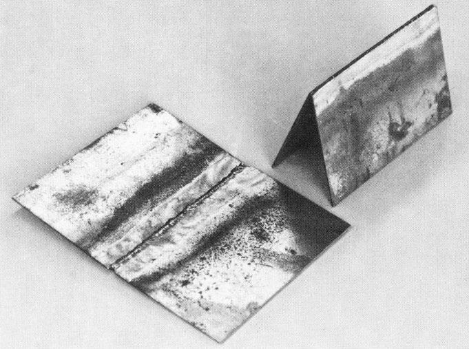 gas welding thin steel