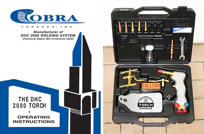 gas welding torch kit