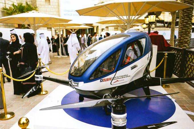 Human Taxi Drone