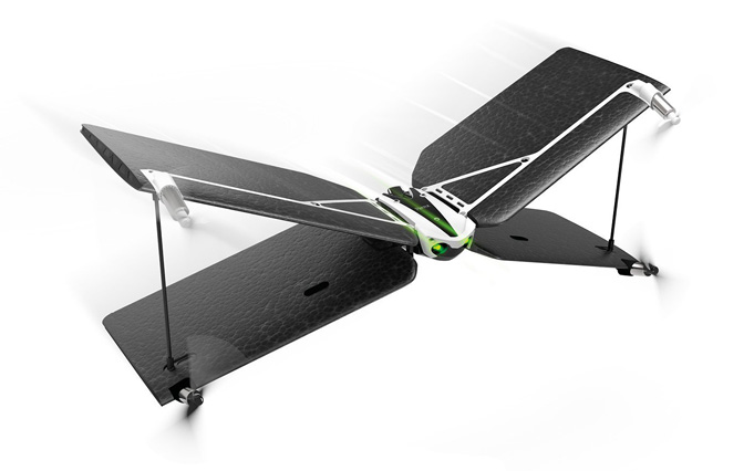 parrot x wing drone