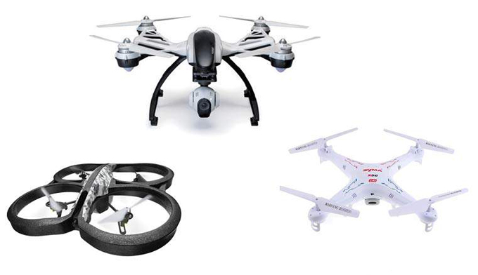 Quadcopters and drones for sale