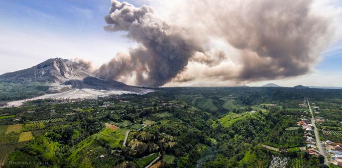 Rhianna Lakin Volcano - Pano