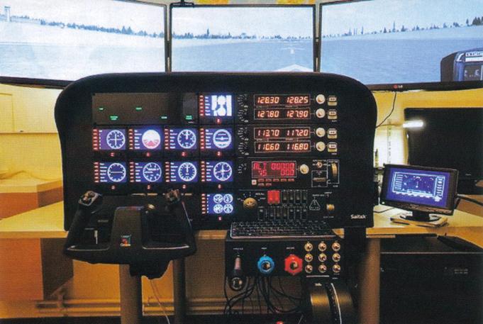 Saitek C182 simulator