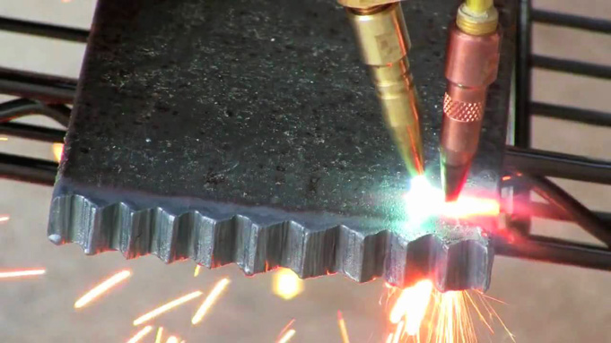 accurate gas cutting torch