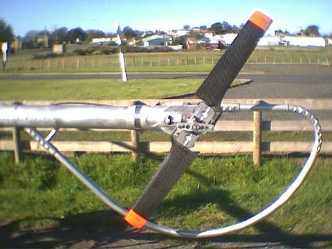 <h5>Helicopter tail rotor and bump guard</h5><p>Cameron Carters helicopter tail rotor																	</p>