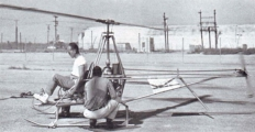<h5>Early hobbycopter prototype helicopter testing</h5><p>																	</p>