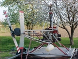<h5>Homebuilt helicopter rear view</h5><p>																	</p>