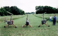 <h5>Three different homebuilt helicopters</h5><p>																	</p>