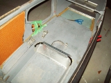 <h5>SkyShark helicopter floor panel</h5><p>SkyShark helicopter floor panel with honeycomb sides (orange)</p>