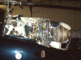 <h5>Rotorway JetExec helicopter turbine installation</h5><p>Rotorway JetExec helicopter turbine installation showing fuel control and fuel line installation</p>