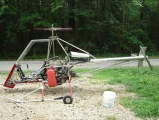 <h5>DIY plans built SkyTwister helicopter</h5>