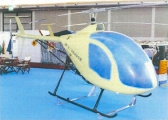 <h5>Dragonfly DF helicopter cabin</h5>