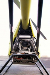 <h5>Dragonfly helicopter rear view</h5>