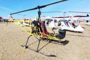 <h5>Homebuilt helicopter display</h5>
