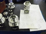 <h5>Aluminum helicopter parts</h5>