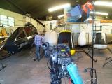 <h5>Cicare hanger public TV filming</h5>
