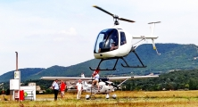 <h5>Heli Tech LH 212 helicopter airshow</h5>