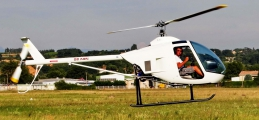 <h5>White LH 212 helicopter</h5>