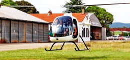 <h5>Small two seat helicopter</h5>