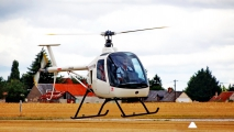 <h5>Taxiing Heli Tech helicopter</h5>