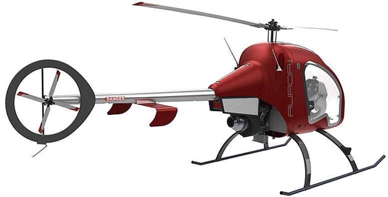 Auroa personal helicopter