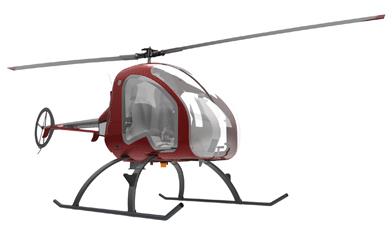 Auroa turbine helicopter