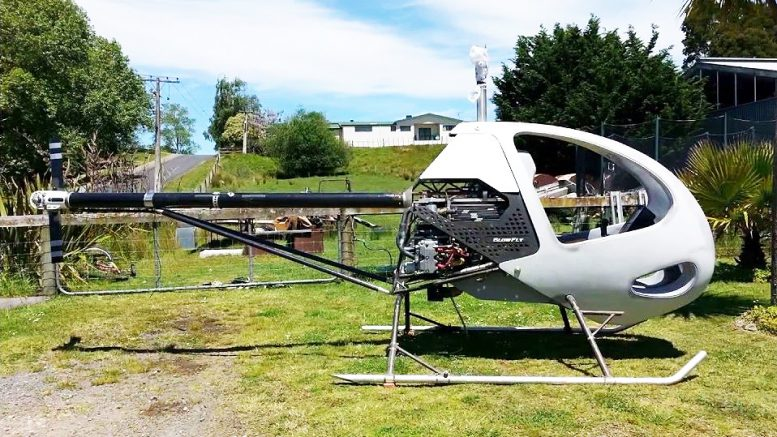 Cameron Carter Blowfly homebuilt helicopter