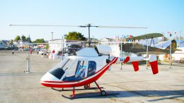 Experimental Rotorfly RI 30 Eaglet Helicopter