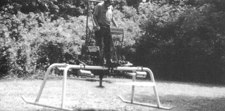 Experimental flying platform