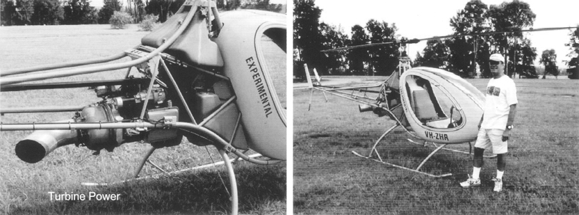 Helicycle turbine kit helicopter